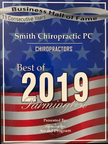 Best of 2019 Chiropractors